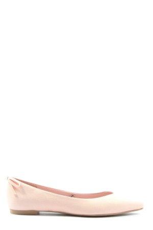 H&M Klassische Ballerinas pink Casual-Look