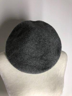 H&M Baskische muts grijs Wol