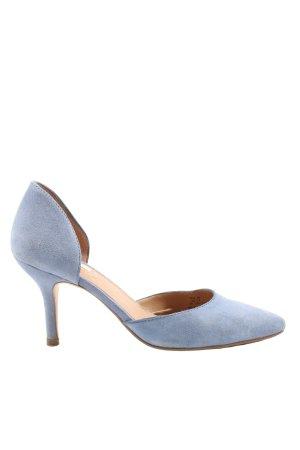 H&M Klassische Pumps blau Business-Look