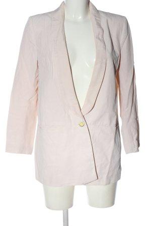 H&M Klassischer Blazer pink Business-Look