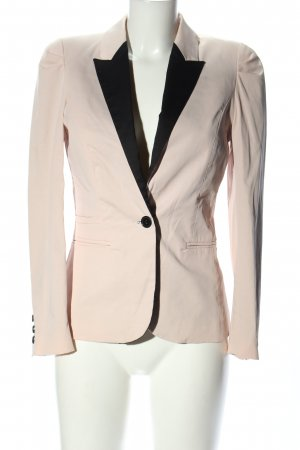H&M Klassischer Blazer pink-schwarz Casual-Look