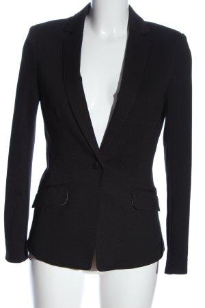 H&M Klassischer Blazer schwarz Casual-Look