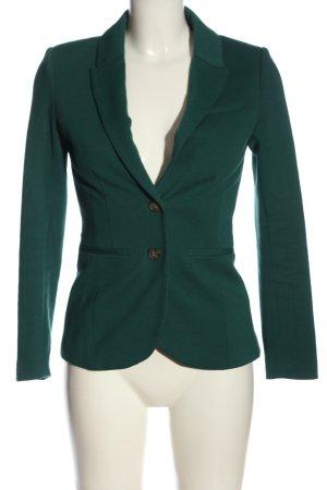 H&M Klassischer Blazer grün Business-Look