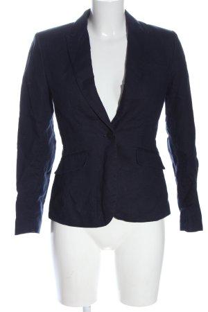 H&M Klassischer Blazer blau Business-Look