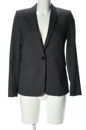 H&M Klassischer Blazer hellgrau Business-Look