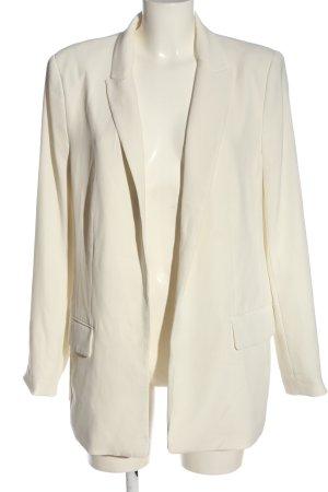 H&M Klassischer Blazer weiß Business-Look