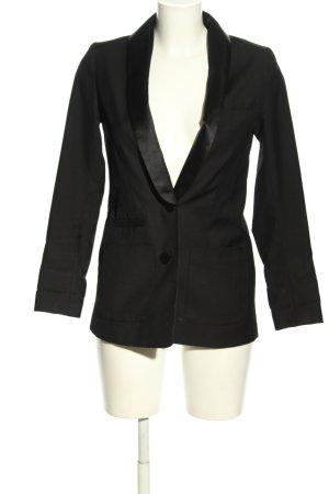 H&M Klassischer Blazer black casual look
