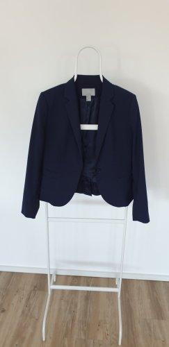 H&M, Klassischer Blazer, dunkelblau