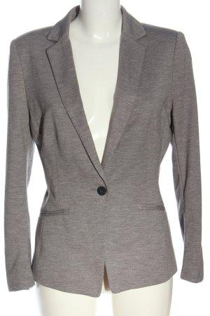 H&M Klassischer Blazer light grey flecked casual look
