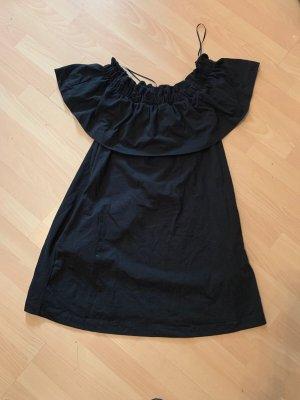 H&M Eénschouderjurk zwart