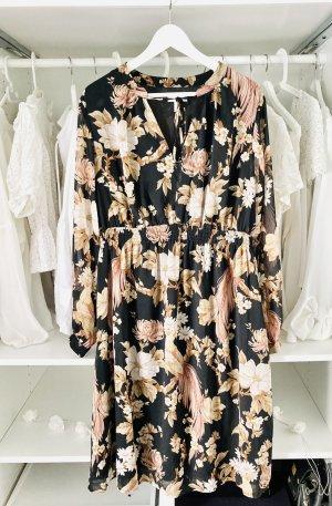 H&M Robe chiffon multicolore