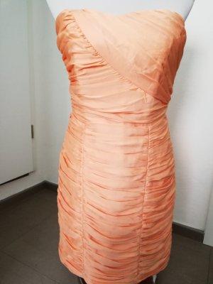 H&M Bandeau Dress apricot