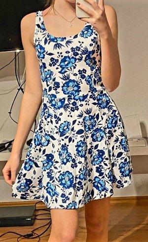 H&M Kleid blau/weiß Gr.36