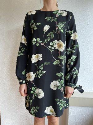 H&M Kleid Blumenmuster Gr S