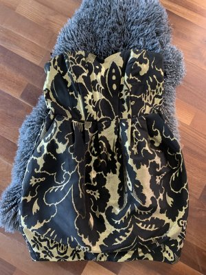 H&M Robe bustier multicolore tissu mixte