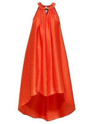 H&M Kleid Conscious Collection orange Gr. XL NEU!