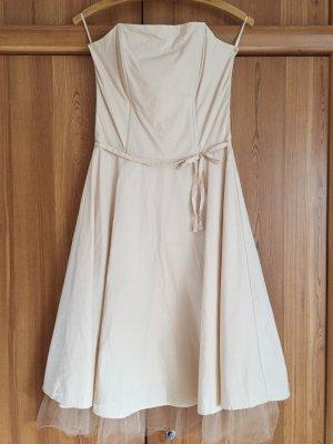 Hennes Robe à corsage crème-beige clair