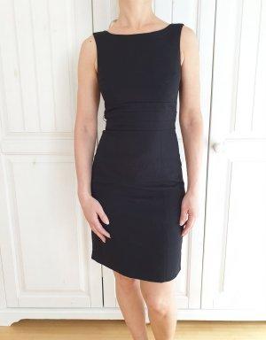 H&M Kleid Dress Schwarz XS 34 Buisness Abendkleid Hochzeit Abschluss Formal