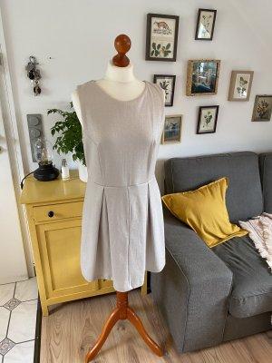 H&M Kleid Etuikleid Silber L Büro Outfit elegant