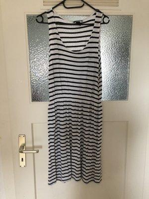 H&M Kleid Gr.S schwarz/weiß gestreift
