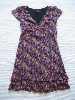 H&M kleid gr. xs 34 neu blumen floral boho