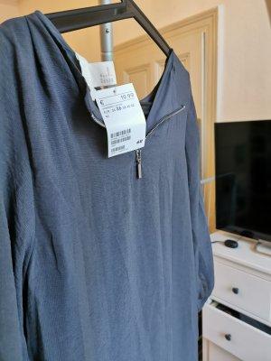 H&M Kleid grau