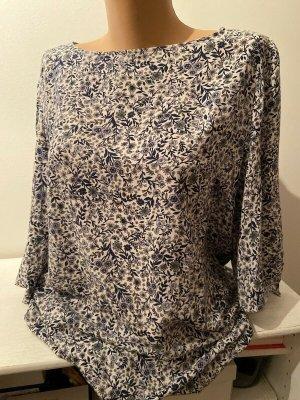 H&M Stretch jurk lila-wit Katoen