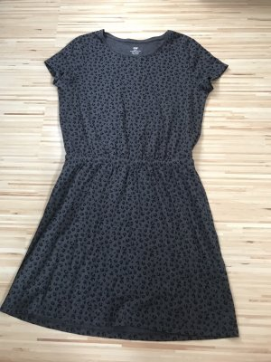H&M Basic Beach Dress black-anthracite