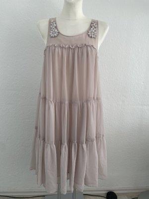 H&M Kleid Midi Rosa Sommerkleid gr 38