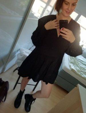 H&M Kleid Minikleid Langarm Tunika