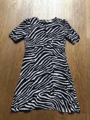 H&M Kleid mit Zebra Muster Größe 38