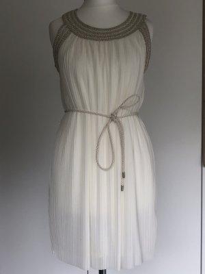 H&M Vestido babydoll blanco