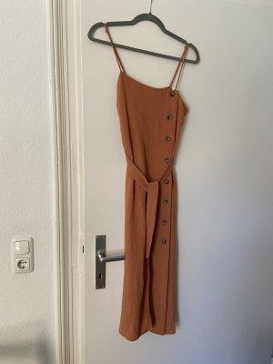 H&M Vestido largo bermejo