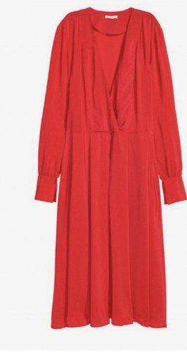 H&M Kleid rot