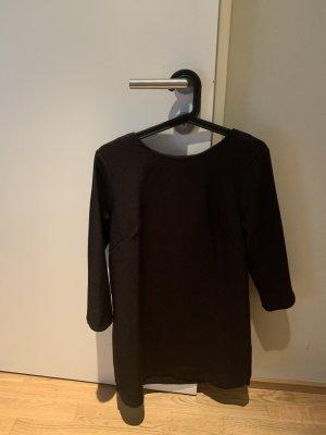 H&M Kleid Schwarz mit Dreiviertel Ärmel