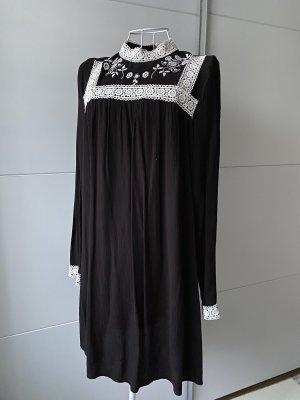 H&M Kleid schwarz mit spitze S 36