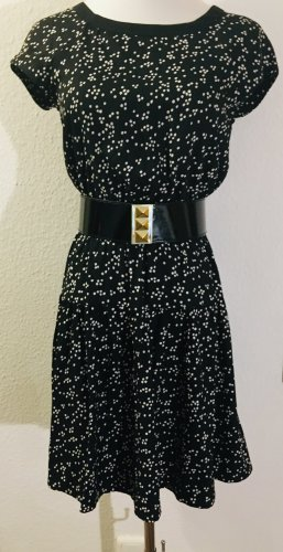 H&M Kleid schwarz/weiß Gr.34