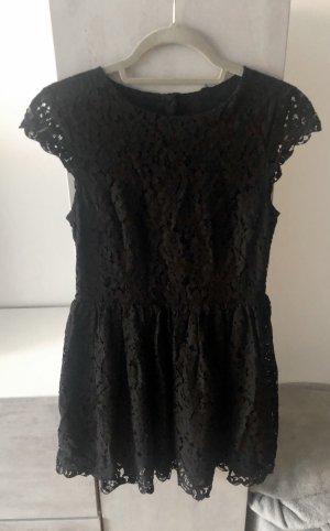 H&M Kleid Spitze schwarz 34