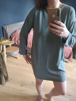 H&M Kleid Sweatkleid Shirtkleid Longshirt