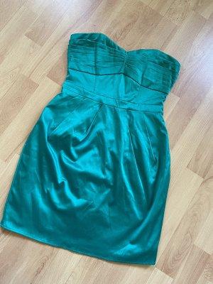 H&M Kleid Trägerloses Kleid Gr. 36