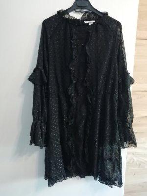 H&M Flounce Dress black