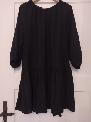 H&M Sukienka typu babydoll czarny