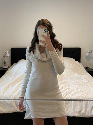 H&M Kleid Wollkleid creme beige Gr. S
