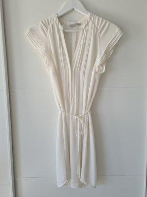H&M Kleid, wollweiß, Gr 34