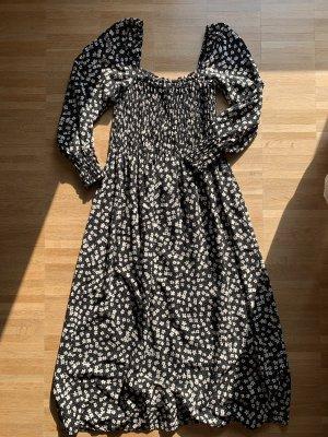 H&M Maxi abito nero-bianco