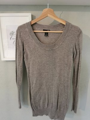 H&M Robe en laine gris