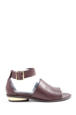 H&M Comfort Sandals brown casual look