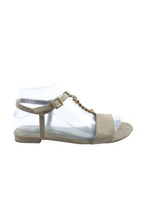 H&M Komfort-Sandalen hellgrau Casual-Look