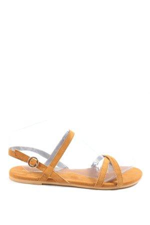 H&M Komfort-Sandalen braun Casual-Look