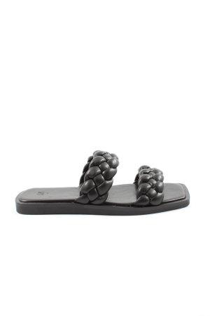 H&M Comfortabele sandalen zwart casual uitstraling